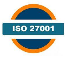 ISO 27001 Információ Biztonsági Irányítási Rendszer logó