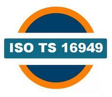 ISO TS 16949 Autóipari Minőségirányítási Rendszer logó