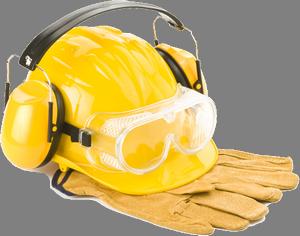Munkavédelem, munkabiztonság szaktevékenység logó